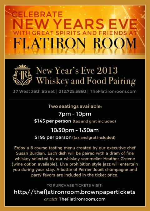 Flatiron Room NYE