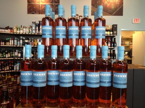 Brenne Whisky Tower @ the Bottle Shop McEwen in Franklin, TN